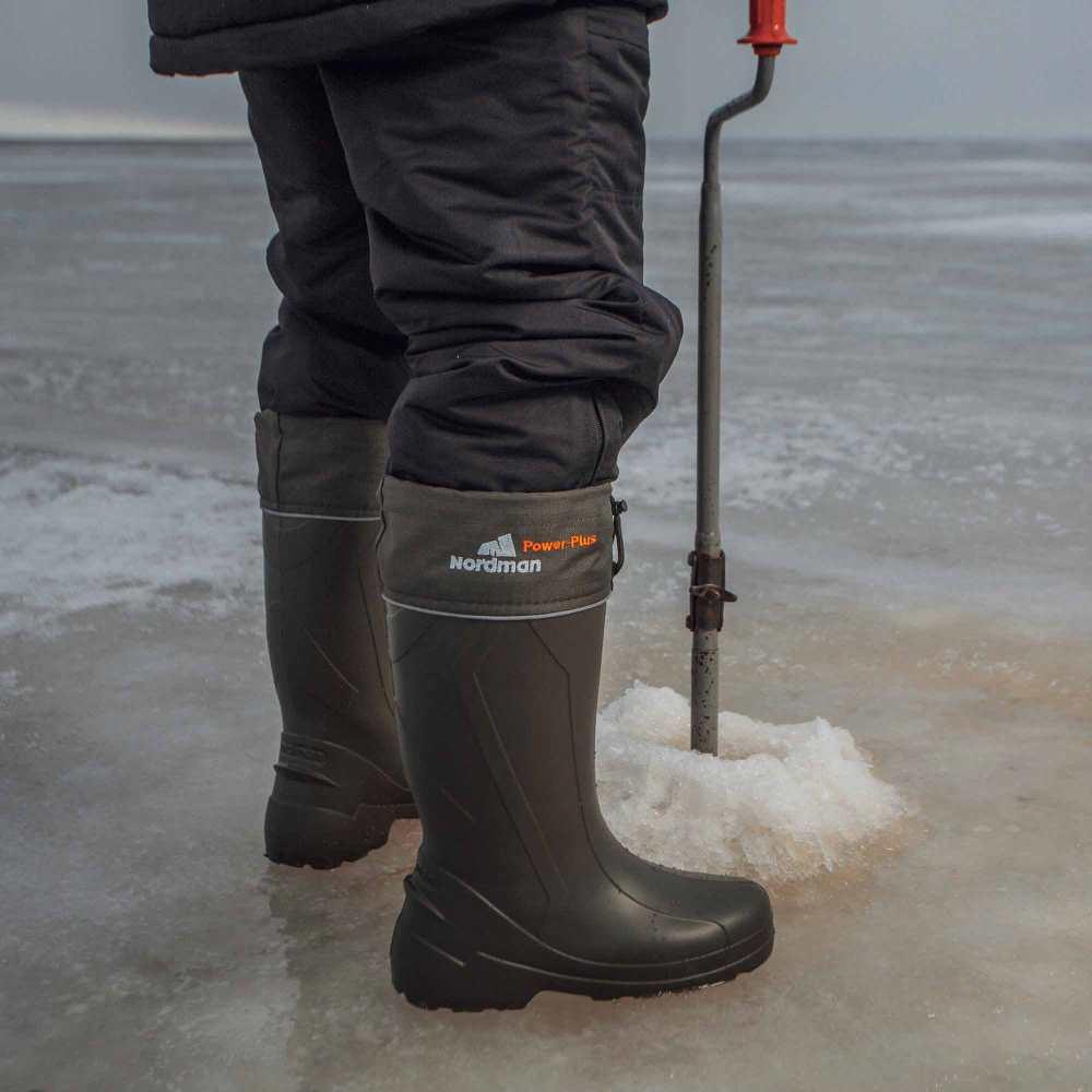 Зимние рыбацкие сапоги тест